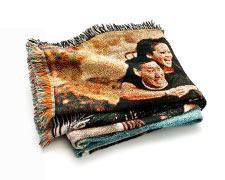 Woven Photo Blankets