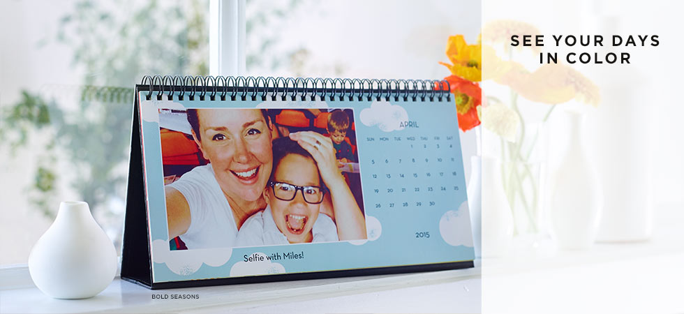 Custom Desk Calendars [Father's Day Gift Ideas at High-Heeled Love]