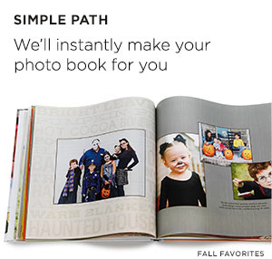 Let us create a photobook for you-instantly